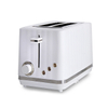 2-Slice Toaster Durable Plastic Toaster with 6 Bread Shade Setting Wide Slot