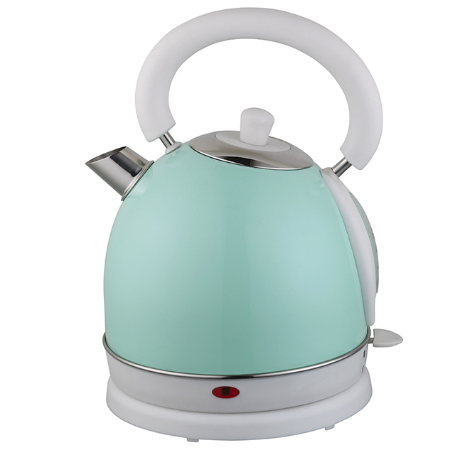 Electric Kettle 1.8L Stainless Steel Water Kettle Cordless Electric Teapot with Temperature Gauge
