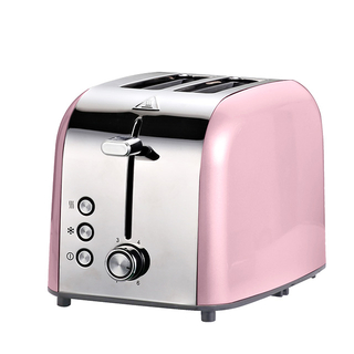 2-Slice Toaster Stainless Steel Toaster with 6 Bread Shade Setting Extra Wide Slot