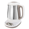 Electric Kettle 1.2L Electric Milk Modulator Stainless Steel Water Kettle Multy-Use Cordless Digital Kettle