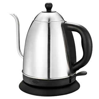 Electric Kettle 1.5L Gooseneck Pour Over Kettle for Coffee & Tea Stainless Steel Teapot